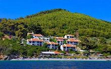 Adrina Beach in Panormos Skopelos
